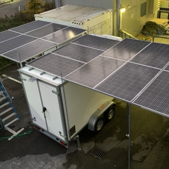 Low cost solar powered food cold storage and distribution