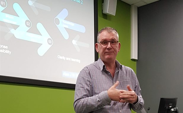 image of The Social Work Seminar Series was delighted to host Alan Wood, a visiting professor at the University of Chester and independent consultant