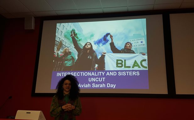 image of Sisters Uncut: intersectionality, feminism and social Activism