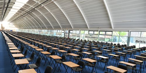 IAC set up for student exams