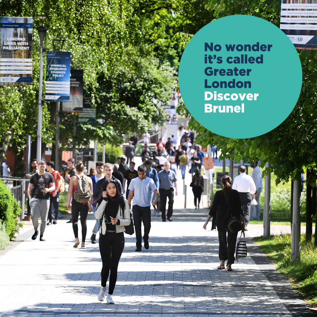 why study at brunel 2020 branding
