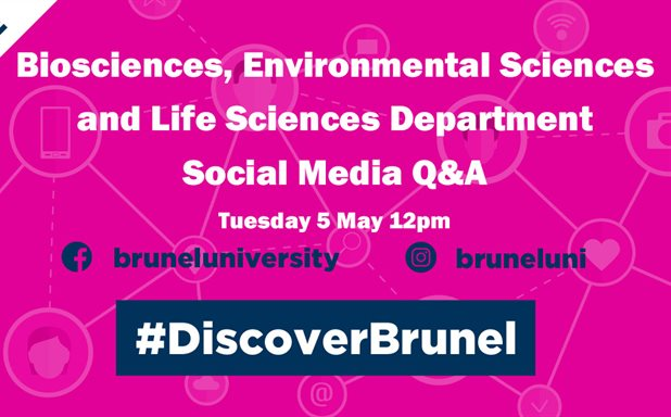 image of Biomedical sciences, Environmental sciences and Life sciences - Social Media Q&A