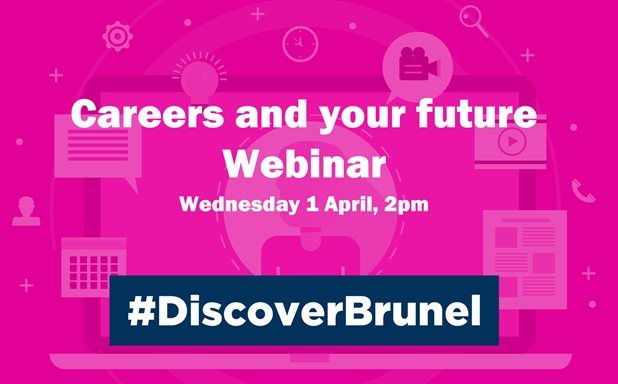 image of Careers and your future - Webinar