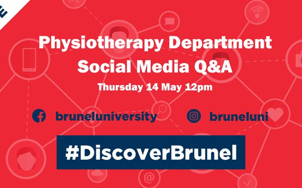 image of Physiotherapy Department - Social Media Q&A